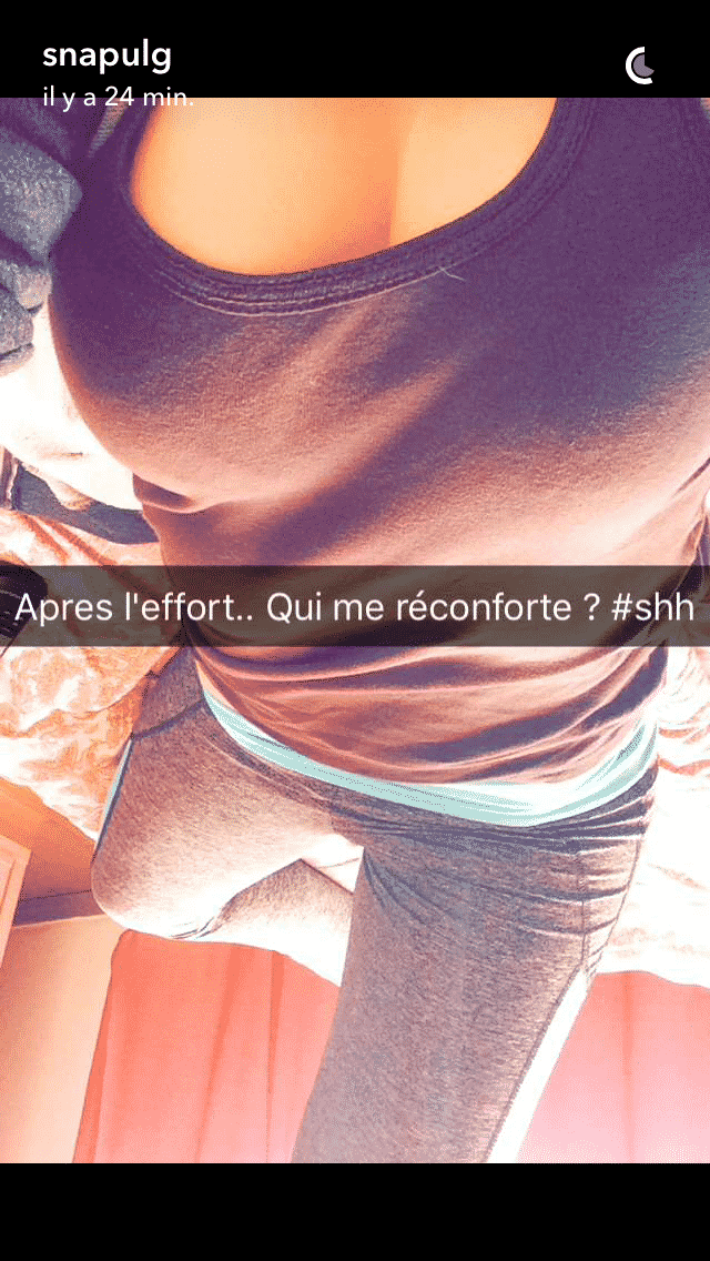 Collection de photos Snapchat HOT Babtou
