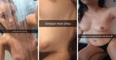 nudes sur snapchat