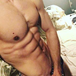 homme musclé nude