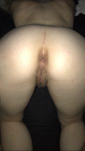 gros cul d'une femme pour la levrette