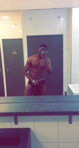 homme black nude