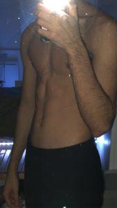 jeune homme snap nude